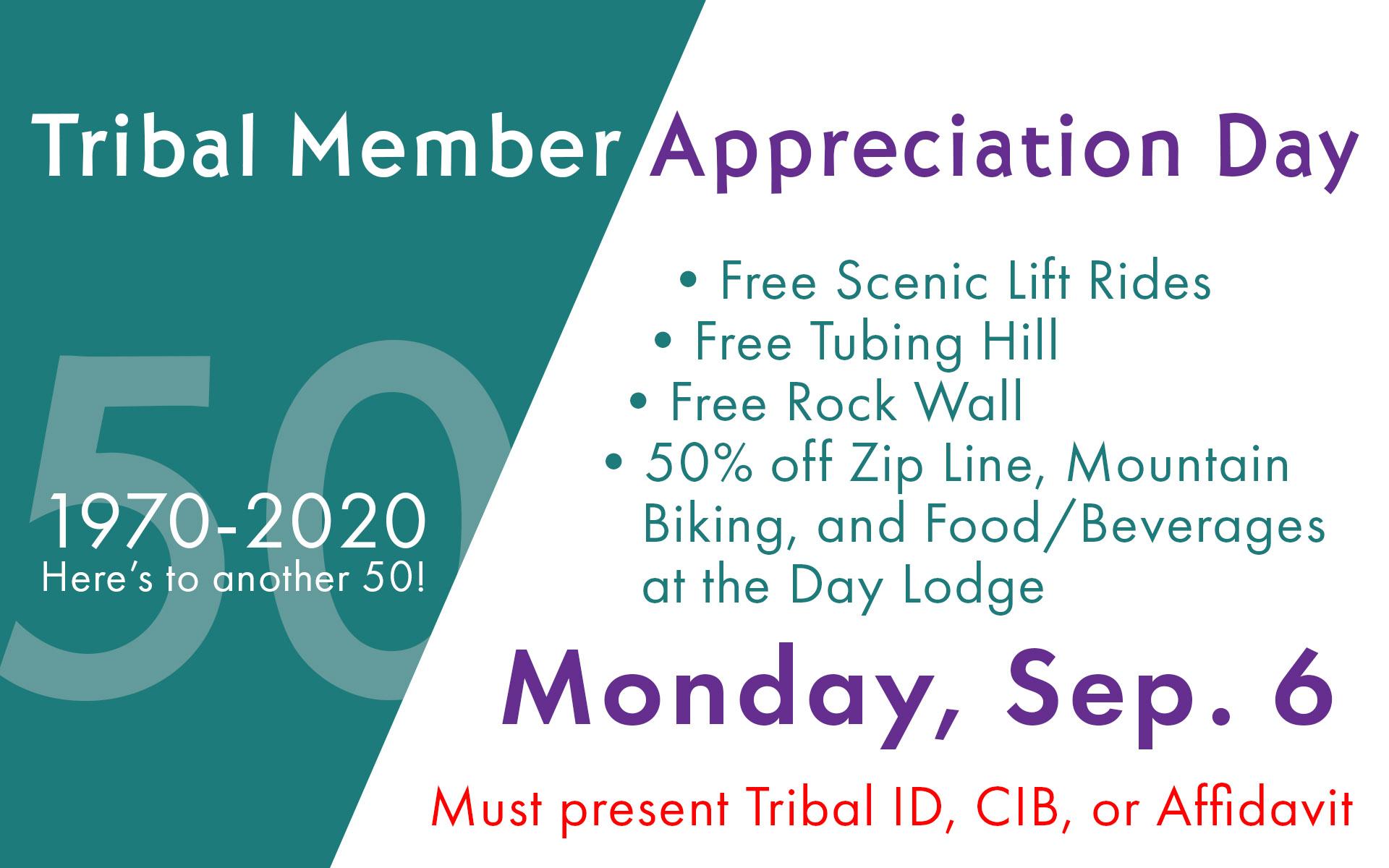 Summer Tribal Appreciation Day Event